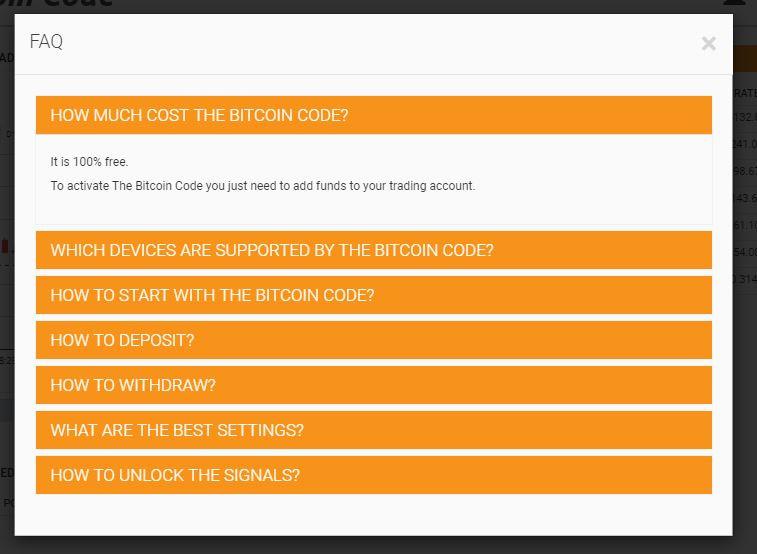 betcoin code faq