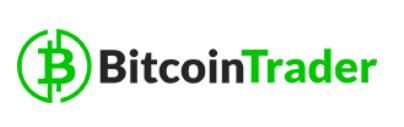 robot trader logo green black