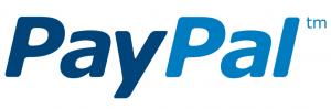 blauw paypal logo