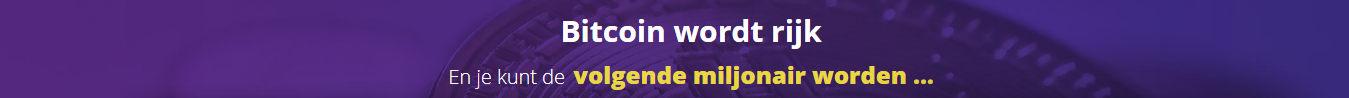 bitcoin wordt rijk