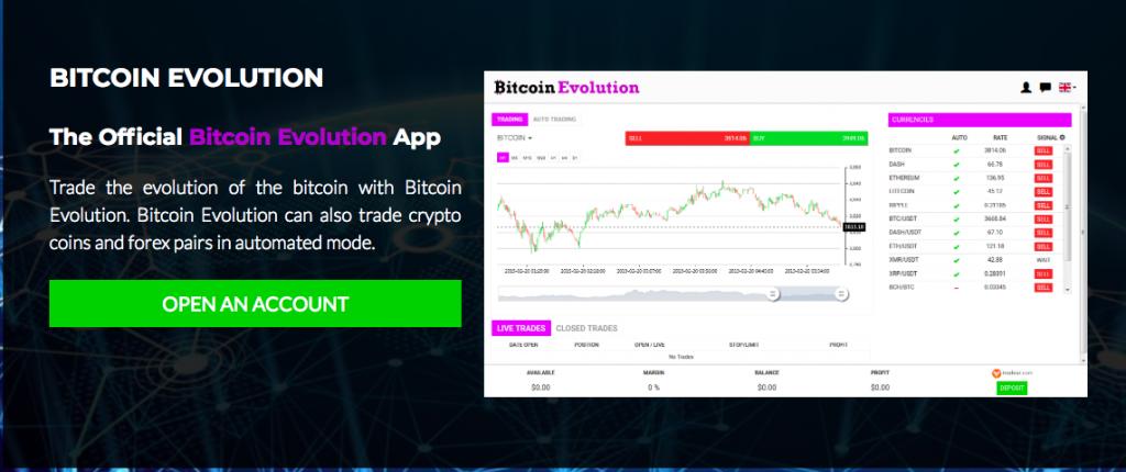 bitcoin evolution aplikacja