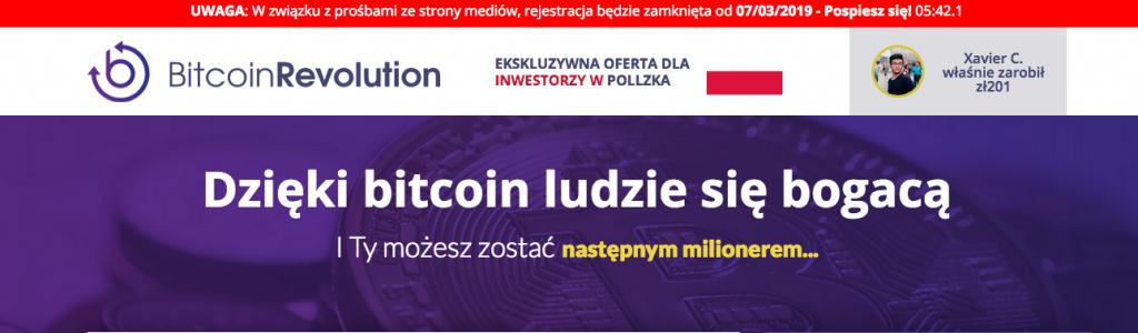 bitcoin revolution strona główna