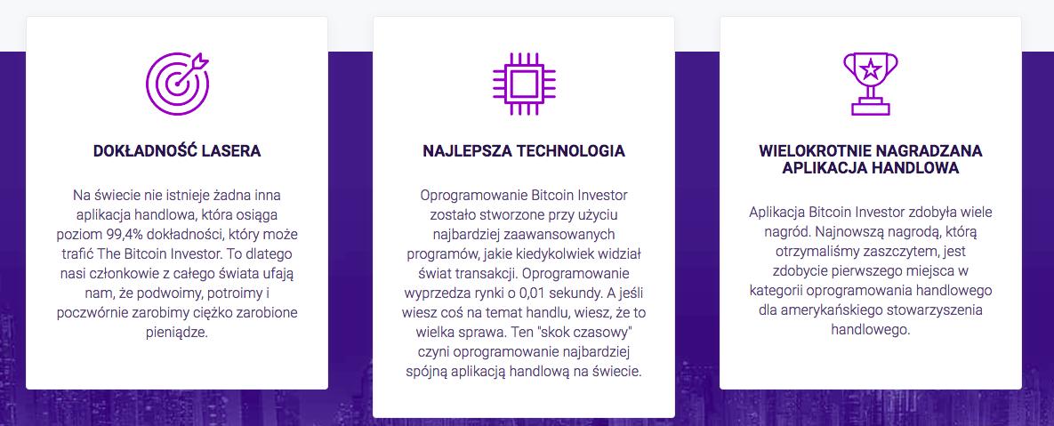 zalety konta bitcoin investor
