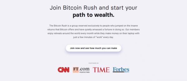 kto poleca bitcoin rush