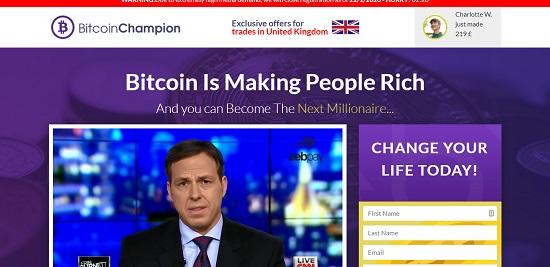 platforma internetowa kryptorobota bitcoin champion