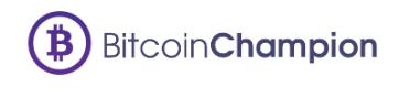 logo bitcoin champion kolorowe