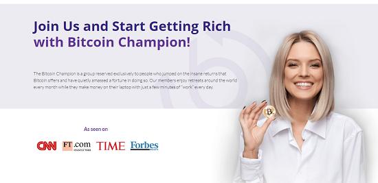 bitcoin champion zarabiaj załóż konto inwestuj zachęta