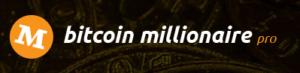 Kolorowe logo Bitcoin Millionaire Pro